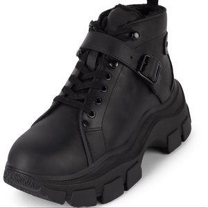 New Jeffrey Campbell Accel Faux Fur Boots Size 8.5